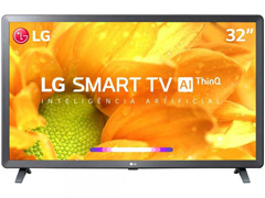 "Smart TV LED 32"" LG HD ThinQ AI TV HDR webOS 4.5 Wi-Fi 3 HDMI 2 USB"