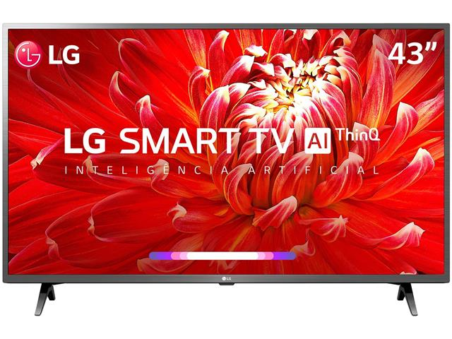 "Smart TV LED 43"" LG Full HD ThinQ AI TV HDR webOS 4.5 Wi-Fi 3HDMI 2USB"