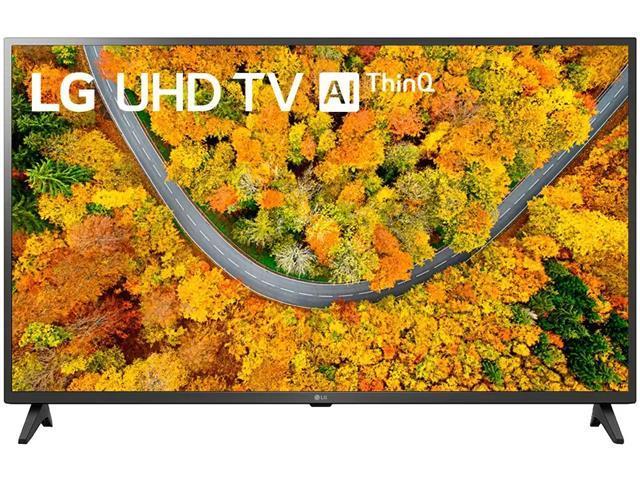 """Smart TV LED 55"""" LG UHD 4K ThinQ AI TV HDR Ativo webOS 4.5 2HDMI 1USB"""