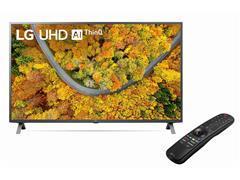"""Smart TV LED 55"""" LG UHD 4K ThinQ AI TV HDR Ativo webOS 4.5 2HDMI 1USB - 1"""