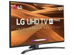 "Smart TV LED 55"" LG UHD 4K ThinQ AI TV HDR Ativo webOS 4.5 3HDMI 2USB - 2"