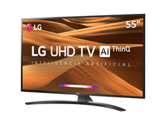 "Smart TV LED 55"" LG UHD 4K ThinQ AI TV HDR Ativo webOS 4.5 3HDMI 2USB - 3"