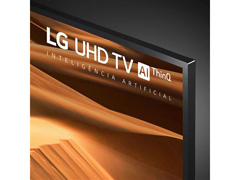 "Smart TV LED 55"" LG UHD 4K ThinQ AI TV HDR Ativo webOS 4.5 3HDMI 2USB - 6"