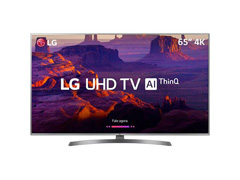 "Smart TV LED 65"" LG UHD 4K ThinQ AI TV HDR Ativo webOS 4.5 4 HDMI 2USB"