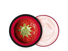 Manteiga Corporal The Body Shop Morango 200ML