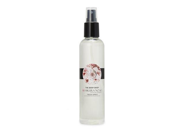 Desodorante Corporal The Body Shop Fresh Spray Sakura No Ki 200ML