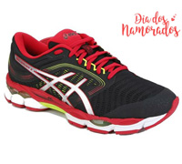 Tênis Asics Gel-Ziruss 3 Black/Speed Red Masculino