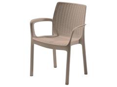Cadeira Keter Bali Rattan I para Área Externa Cappuccino - 0