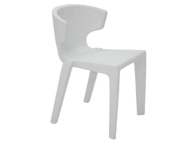 Cadeira Tramontina Marilyn em Polietileno sem Braços Branca
