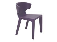Cadeira Tramontina Marilyn em Polietileno sem Braços Lilás