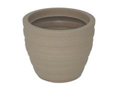 Vaso Inca Tramontina Basic em Polietileno 24 cm Areia