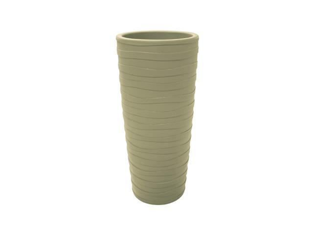 Vaso Grego Tramontina em Polietileno 80 cm Areia