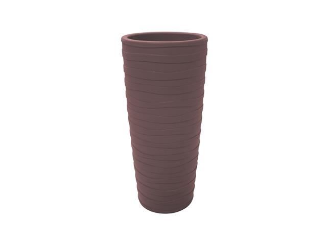 Vaso Grego Tramontina em Polietileno 80 cm Terracota