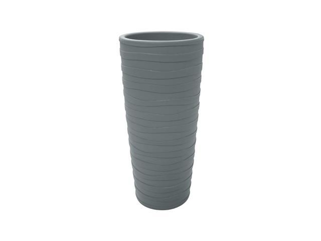 Vaso Grego Tramontina em Polietileno 80 cm Cimento