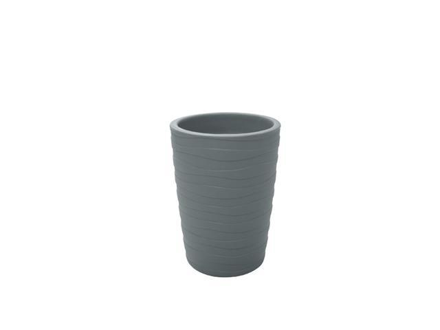 Vaso Grego Tramontina em Polietileno 50 cm Cimento