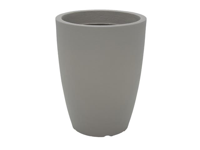 Vaso Thai Tramontina Basic em Polietileno 58 cm Concreto