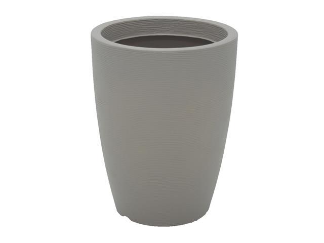 Vaso Thai Tramontina Basic em Polietileno 48 cm Concreto