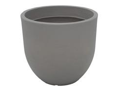 Vaso Laos Tramontina Basic em Polietileno 45 cm Concreto - 0
