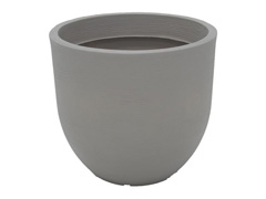 Vaso Laos Tramontina Basic em Polietileno 38 cm Concreto
