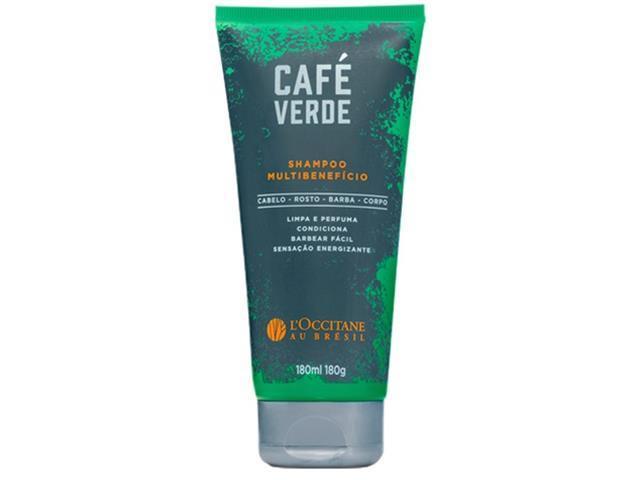Shampoo Multibenefício Café Verde L'Occitane au Brésil 180ml