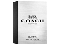 Perfume Coach Platinum Masculino Eau de Parfum 60ml - 2