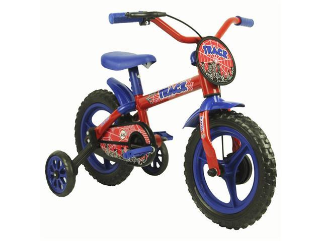 Bicicleta Infantil Track Bikes Arco Íris Aro 12 Vermelho e Azul