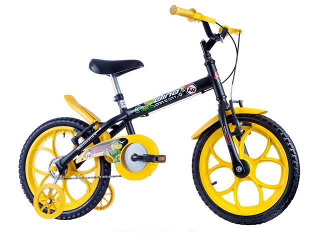 Bicicleta Infantil Track Bikes Dino Aro 16 Preta