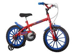 Bicicleta Infantil Track Bikes Dino Aro 16 Vermelha - 0