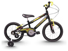 Bicicleta Infantil Track Bikes Track Boy Aro 16 Preto e Amarelo - 1