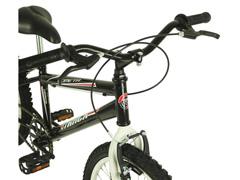 Bicicleta Infanto Juvenil Track Bikes Cometa Aro 20 Preta e Branco - 2