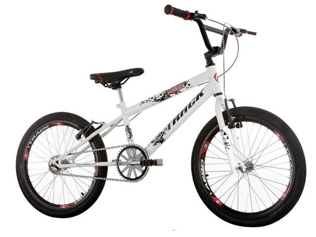Bicicleta Juvenil Track Bikes Noxx Cross BMX Aro 20 Branco