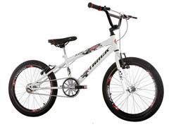Bicicleta Juvenil Track Bikes Noxx Cross BMX Aro 20 Branco - 0