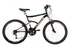 Bicicleta Track Bikes TB Master Mountain 21V Aro 26 Preta e Azul