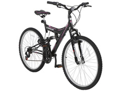 Bicicleta Track Bikes TB 200 Mountain Bike Aro 26 Preta e Rosa