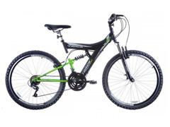 Bicicleta Track Bikes TB 300 Mountain Bike Aro 26 Preta e Verde Neon