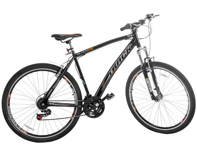 Bicicleta Track Bikes Black Mountain 21V Aro 29 Preta