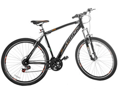 Bicicleta Track Bikes Black Mountain 21V Aro 29 Preta - 0