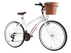 Bicicleta Track Bikes Confort Week 200 Plus 21V Shimano Aro 26