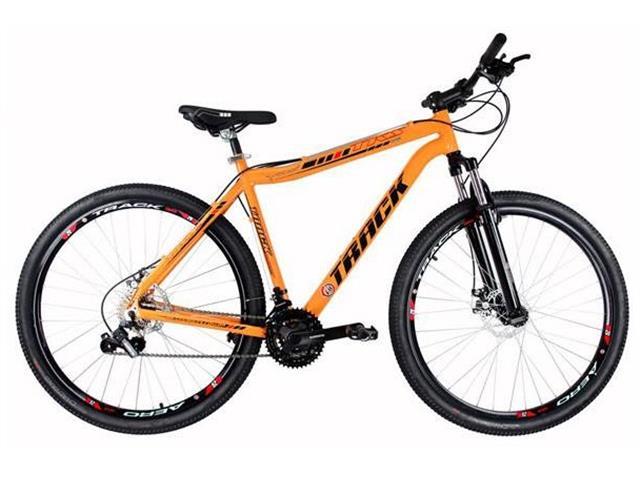 Bicicleta Track Bikes TB TKS Mountain 21V Shimano Aro 29 Laranja