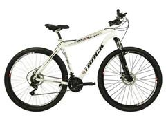 Bicicleta Track Bikes TB TKS Mountain 21V Shimano Aro 29 Branca