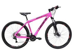 Bicicleta Track Bikes TB TKS Mountain 21V Shimano Aro 29 Rosa