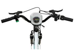 Bicicleta Elétrica Track Bikes TKE Urbana 350W Aro 26 Branca - 2