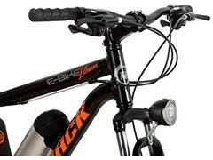 Bicicleta Elétrica Track Bikes MTB 21V Shimano 350W Aro 29 Preta - 1