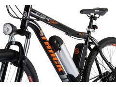 Bicicleta Elétrica Track Bikes MTB 21V Shimano 350W Aro 29 Preta - 2