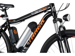 Bicicleta Elétrica Track Bikes MTB 21V Shimano 350W Aro 29 Preta - 4