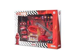 Brinquedo Play Machine Multikids BR969 Bombeiro em Resgate Vermelho - 2