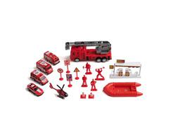 Brinquedo Play Machine Multikids BR969 Bombeiro em Resgate Vermelho - 1