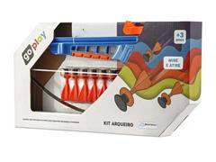 Kit Arqueiro Multikids BR953 Go Play Azul/Laranja