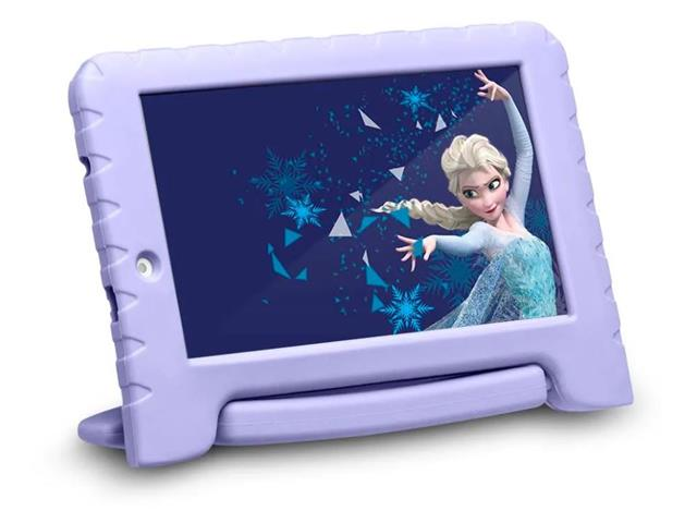 "Tablet Disney Frozen Plus Multilaser NB315 Wi Fi Tela 16GB 7"""