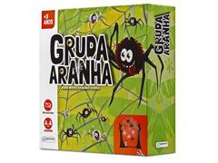 Jogo Gruda Aranha na Teia Multikids BR600 com 21 Peças